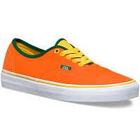 Vans Authentic (Brite) neon orange/cyber yellow