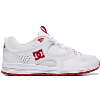 DC KALIS LITE J SHOE WHITE/RED