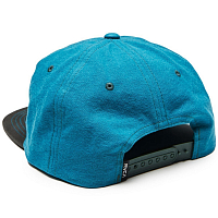 RVCA WASHED SNAPBACK HAT TEAL