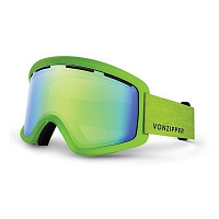 VonZipper BEEFY Mono Black Lime/Quasar Chrome