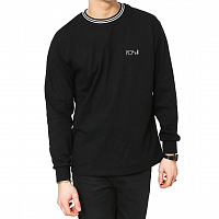 Polar STRIPED RIB LONGSLEEVE BLACK/WHITE