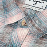 Billabong COASTLINE FLANNEL PINK HAZE