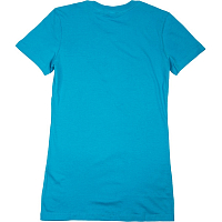Thrasher GIRLS MAG LOGO SHORT SLEEVE Teal Blue