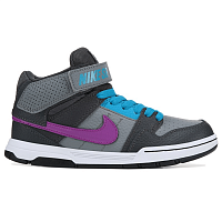 Nike MOGAN MID 2 JR (GS) COOL GREY/VIVID PURPLE-BLUE LAGOON