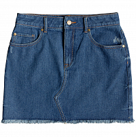 Roxy ICONDENIMSKIRT J DNSK MEDIUM BLUE
