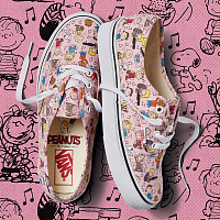 Vans UA AUTHENTIC (Peanuts) Dance Party/pink