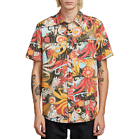 Volcom PSYCH FLORAL S/S ARMY