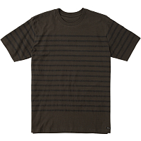 RVCA DEAN STRIPE PIRATE BLACK