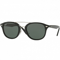 RAY BAN 0RB2183 BLACK/GRAY GREEN