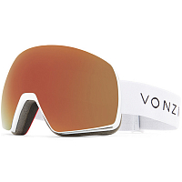 VonZipper SATELLITE WHITE SATIN / WILD BLACK FIRE