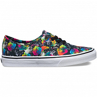 Vans Authentic (Rainbow Floral) black/true white