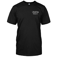 Union SHORT SLEEVED T-SHIRT BLACK