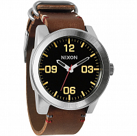 Nixon Corporal BLACK/BROWN