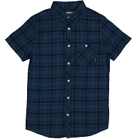 Billabong ALL DAY Check SS DEEP BLUE