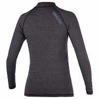 Mystic STAR L/S RASHVEST WOMEN BLACK