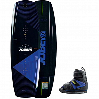 Jobe VANITY WAKEBOARD & HOST BINDINGS SET BLUE