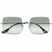 Ray Ban SQUARE SILVER/PHOTO AZURE GRADIENT BLUE
