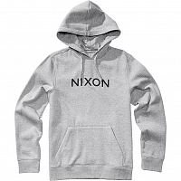 Nixon NEPTUNE PULLOVER HOODIE Heather Gray