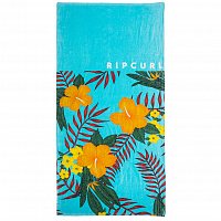 Rip Curl RIDER'S BLOCK TOWEL BLUE