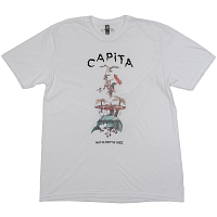Capita SCOTTY TRAMP TEE WHITE