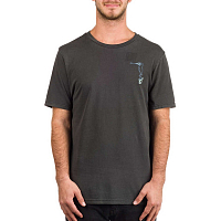 Volcom BURCH BIRD S/S TEE BLACK