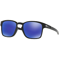 Oakley LATCH SQUARED MATTE BLACK/VIOLET IRIDIUM POLAR