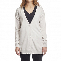 Makia MERINO CARDIGAN ECRU-GREY