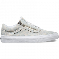 Vans OLD SKOOL ZIP (Marble Suede) blue/true white