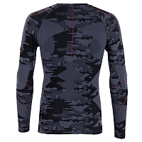 BODY DRY DAULAGHIRI LONG SLEEVE SHIRT BLACK CAMO