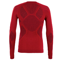 BodyDry K2 LONG SLEEVE SHIRT BURGUNDY/RED