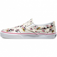 Vans Classic Slip-On (Disney) Minnie Mouse/classic white