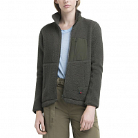 Herschel WOMEN'S SHERPA FULL ZIP DARK OLIVE
