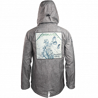 SESSIONS METALLICA COLAB JACKET Charcoal