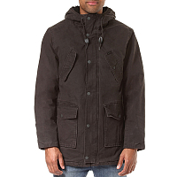 RVCA GROUND CONTROL PARKA PIRATE BLACK