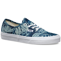 Vans Authentic (Indigo Tropical) blue/true white