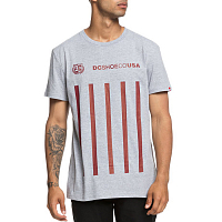 DC GUVNOR SS M TEES GREY HEATHER