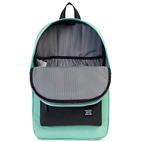 Herschel Heritage Mid-Volume Lucite Green/White/Black Rubber