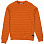 Billabong DIE CUT STRIPE CREW Dark Orange