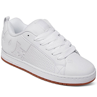 DC COURT GRAFFIK M SHOE WHITE/WHITE/GUM