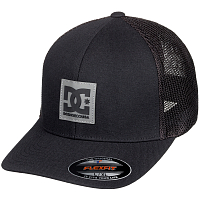 DC MESHER TRUCKER  HDWR BLACK