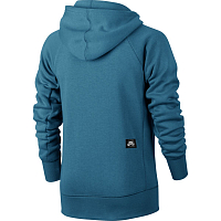 Nike B NK HOODIE FZ ICON SMOKEY BLUE/ANTHRACITE/BLACK