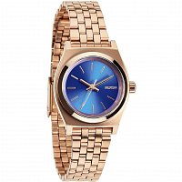 Nixon Small Time Teller ROSE GOLD/COBALT