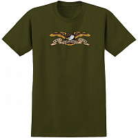Anti-Hero AH S/S EAGLE MIL.GREEN