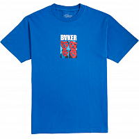 Baker POLYRHYTHM ROYAL BLU TEE BLUE