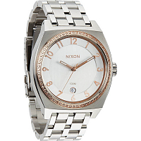Nixon The Monopoly SILVER/LIGHT GOLD CRYSTAL