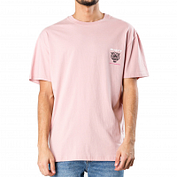 Rusty TURF WAR SHORT SLEEVE TEE PALE MAUVE