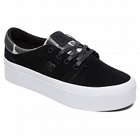 DC Trase Pltfrm SE J Shoe BLACK/TAN