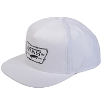 Vans FULL PATCH BARBED SNAPBACK White