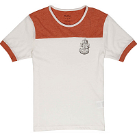 RVCA SAFE HARBOR RED CLAY