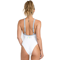 RVCA REAL TALK ONE PIECE White